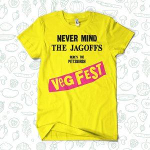 Pittsburgh VegFest Yellow T-Shirt
